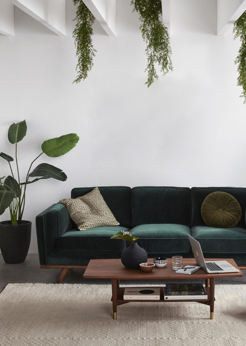 GREEN-VELVET-SOFA-INSPIRATION-Freedom-Daliah-Velvet